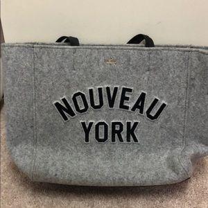 Brand new KateSpade charcoal shoulder bag with tag